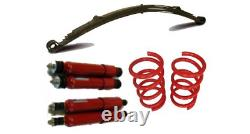 Classic Fiat 500 126 Abarth Sport Lowered Suspension Kit Springs Leaf Spring