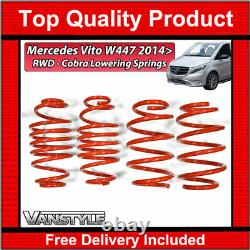 Fits Mercedes Vito W447 14 Rwd Cobra Sport -30/45mm Lowering Springs Suspension