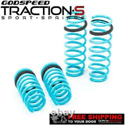 Godspeed Project Traction-S Lowering Springs For BMW 5-SERIES 2011-2017 F10 RWD