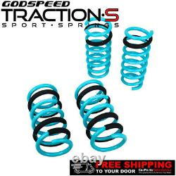Godspeed Project Traction-S Lowering Springs For NISSAN 350Z Z33 2003-2008