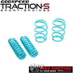 Godspeed Traction-S Lowering Springs For BMW 3-SERIES 2012-2017 F30 XDRIVE AWD