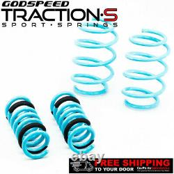 Godspeed Traction-S Lowering Springs For MERCEDES C-CLASS Sedan 2008-14 W204 RWD