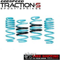 Godspeed Traction-S Lowering Springs For VW JETTA GLI 12-18 LS-TS-VN-0006