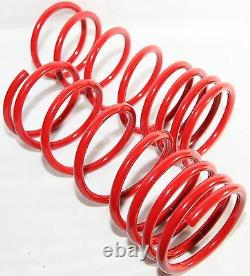 Lowering Spring Set fit 84-87 Toyota Corolla DLX/ FX /LE /Sport DLX AE86 RED