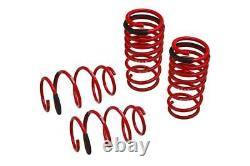 Megan Racing Lowering Sport Springs For 07-18 Fiat 500 Coupe Convertible Exc. E