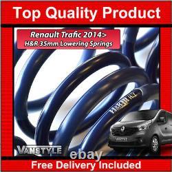 Renault Trafic 2014 Genuine H&r 35mm Sport Lowering Suspension Spring Set Of 4