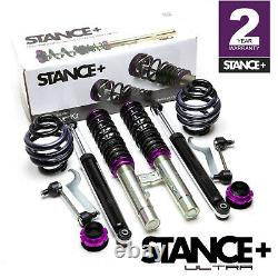 Stance+ Ultra Coilovers Suspension Kit BMW 3 Series E46 Touring Estate (All)
