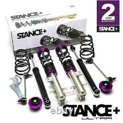 Stance+ Ultra Coilovers Suspension Kit Vauxhall Corsa D 1.6 Turbo, VXR