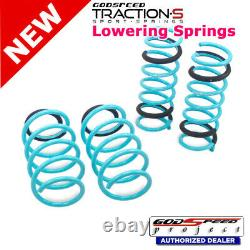 Traction-S Sport Springs For FORD FOCUS 2015-2018 2WD Godspeed# LS-TS-FD-0007