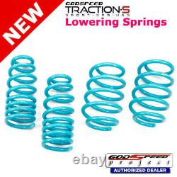 Traction-S Sport Springs For Ford Taurus 2010-2018 Godspeed# LS-TS-FD-0011