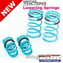 Traction-S Sport Springs For HONDA CRV 2002-2006 RD4 -8 Godspeed# LS-TS-HA-0011