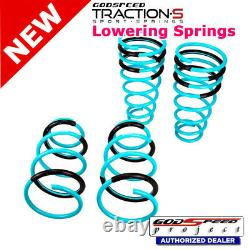 Traction-S Sport Springs For TOYOTA CAMRY 07-11 ACV40 Godspeed# LS-TS-TA-0008