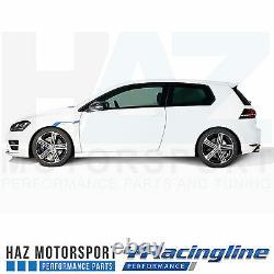 VW Golf MK7 R Volkswagen Racing VWR Racingline Sport Suspension Lowering Springs