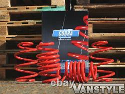 Vw T6 Transporter 2015-19 Cobra Lowering Springs -40mm Sports Performance Lower